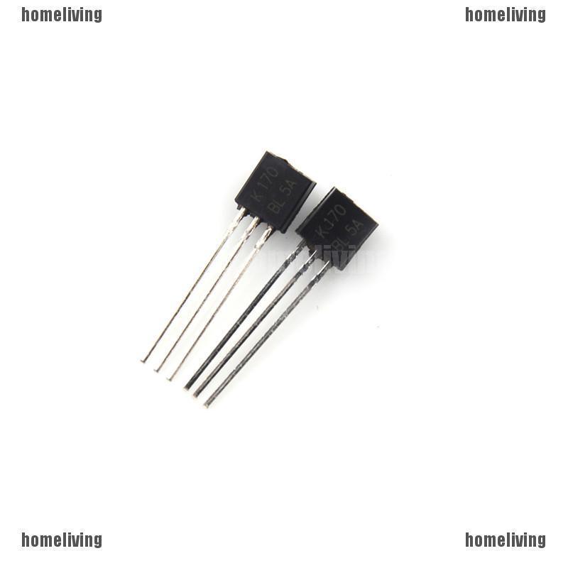 5pcs 2SK170-BL K170BL 2SK170 3 Pins DIP Original TOSHIBA FET TO