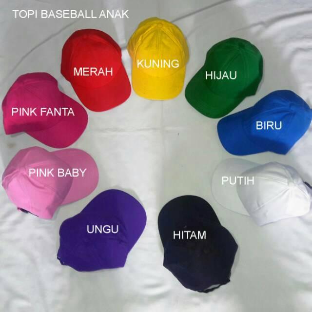 Topi baseball anak twill ecc9ea1e26