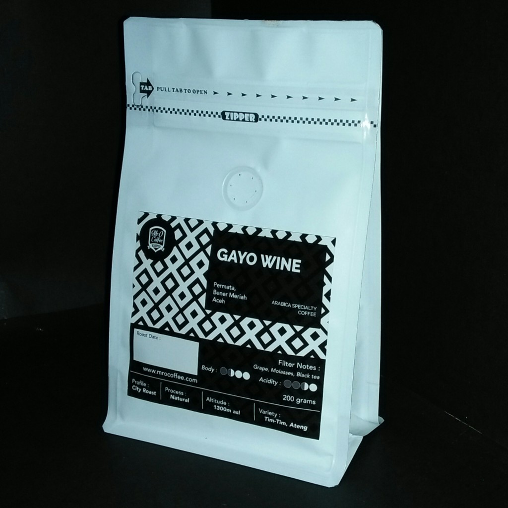 Kopi Arabica Juara Gayo Takengon Honey Proses Specialty Coffee Black 250gr Tagetto Shopee Indonesia
