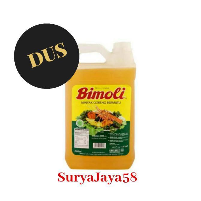 Minyak Goreng Bimoli 5liter |1 dus isi 4pcs | Dus/Kartonan