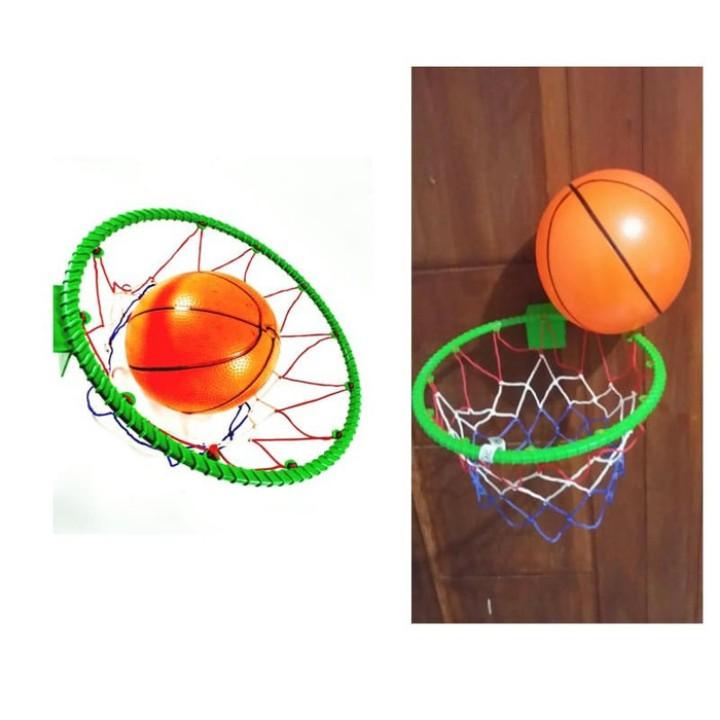 Mainan Basket Anak Bola Basket + Ring Mainan Outdoor