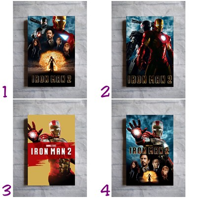 Poster Film Iron Man Ironman 2 2010 Marvel Tony Stark Home Wall Decor Hiasan Dinding Kayu Shopee Indonesia