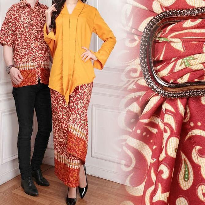 atk cp yanti Hitam couple ayah ibu cewek cowok batik songket etnik kebaya kutu ba | Shopee Indonesia