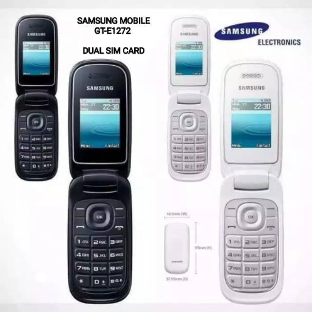Samsung Lipat Gt E1272 Dual Sim Card Supercopy 99 Baru Fullset