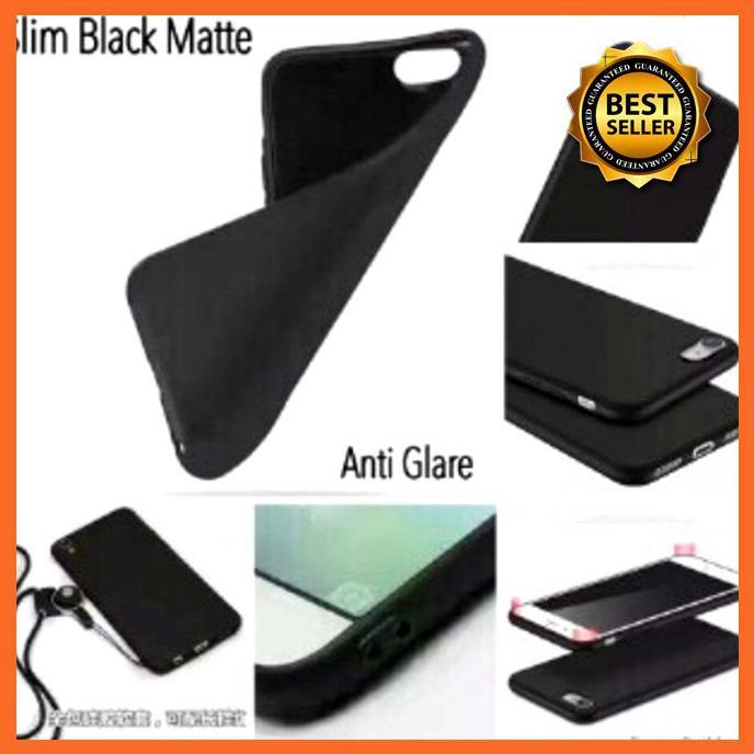 SLIM BLACK MATTE REDMI 4X XIAOMI 5 0 INCHI ELEGANT FLEXIBLE TPU - HITAM  PD2132