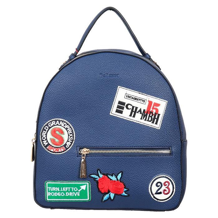Bellezza Backpack 61871-01 Blue -Termurah