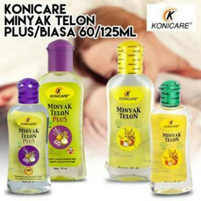 ORIGINAL Konicare Minyak Telon Plus/Biasa 60ml/125ml BPOM / LEDI MART | Shopee Indonesia
