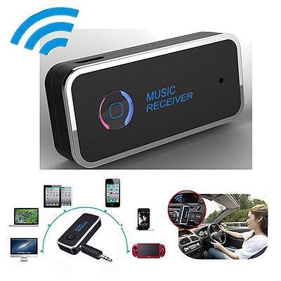 Adapter AUX Audio 3.5mm Untuk Speaker Audio Musik Stereo Dengan Bluetooth 4.1 Mobil   Shopee
