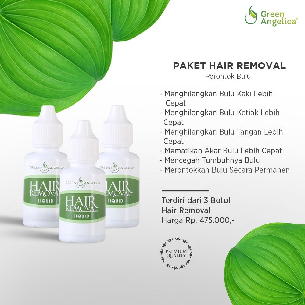 Paket Perontok Bulu Permanen Maksimal Untuk Kaki Tangan Dan Ketiak Isi  Botol Tidak Sakit Shopee Indonesia