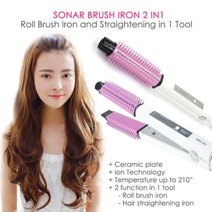 Catokan Sisir Blow Nova LS189 Electric Hair Dryer Pelurus Rambut Catok  Curly Keriting Comb Style  d3f3d0ec11