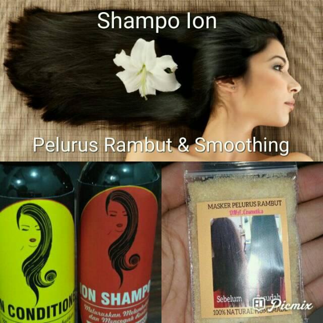 Paket shampo pelurus rambut 3in1 jumbo 100mil  d33d0b575f