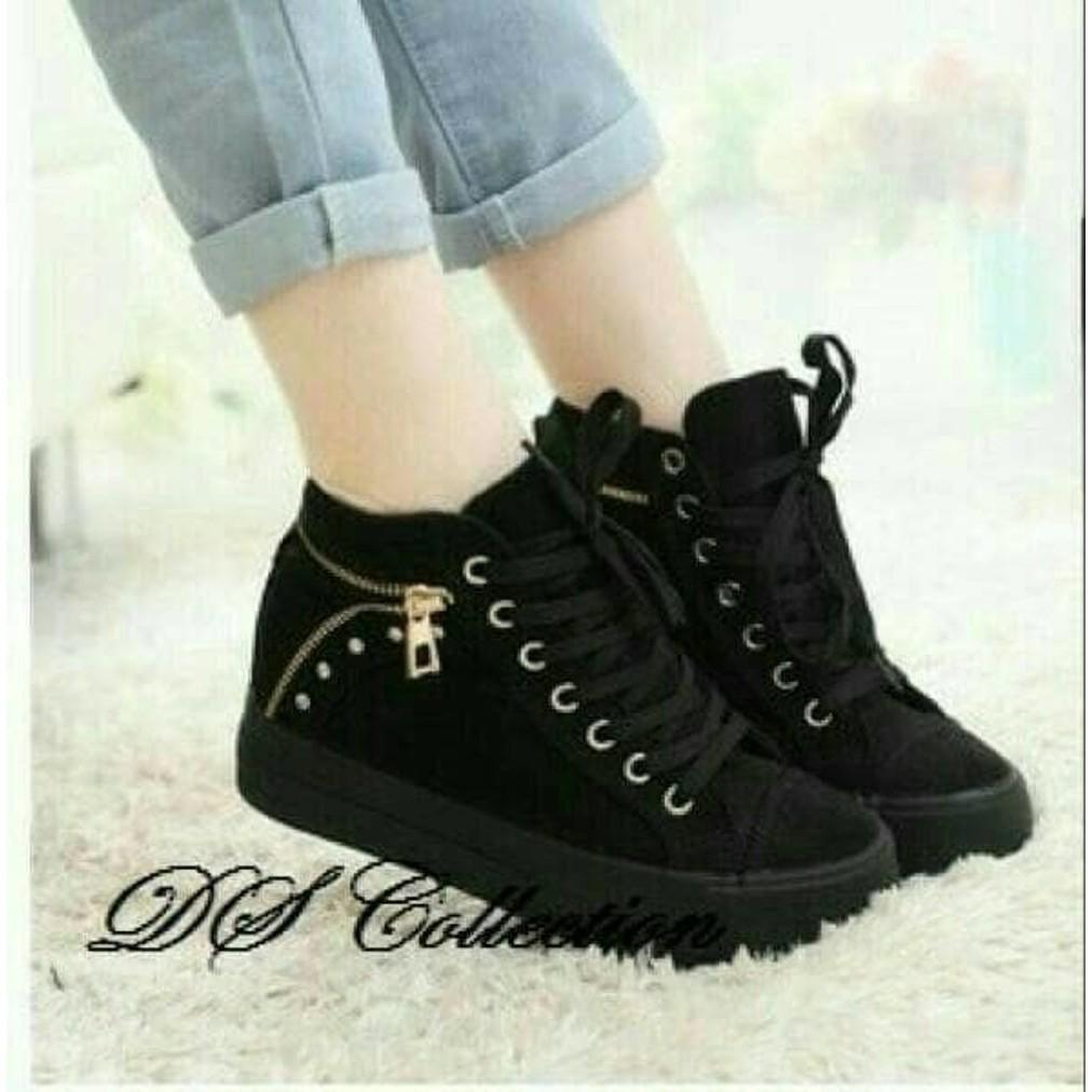 Dijual Sepatu Open Flat Wanita Cewe Tali Simple Merah Hitam Alana Boots E Sapi Pb34 Fl022 Murah Diskon Shopee Indonesia