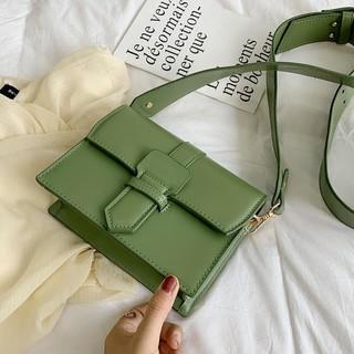 Tas tas wanita musim panas kecil segar lebar tali bahu tas baru 2019 tas Messenger perempuan liar di