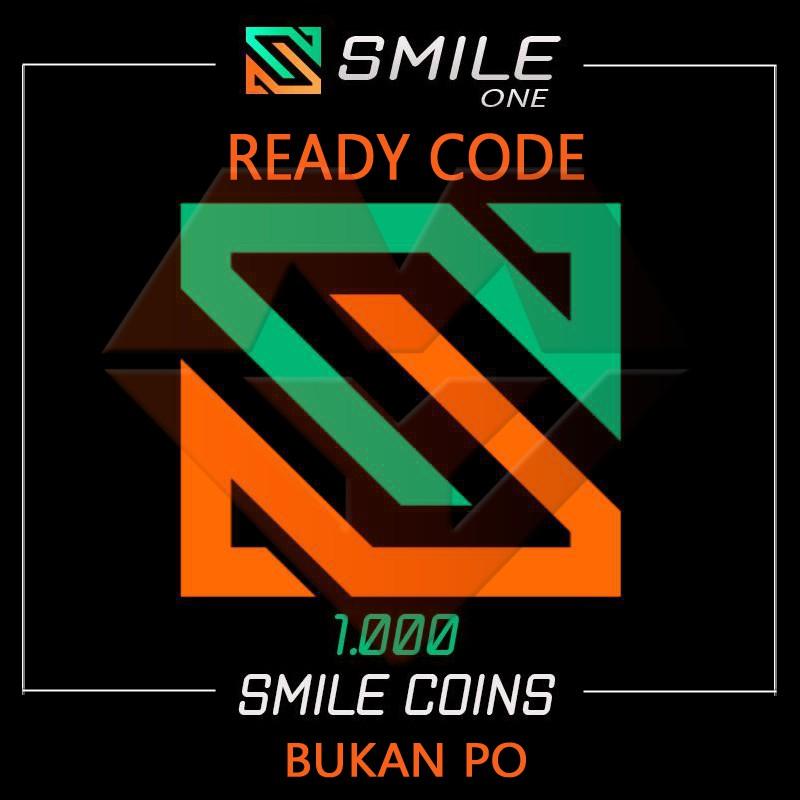 [Instant Kirim] SMILE ONE CODE 1000 COINS /100 BRL READY STOCK BUKAN PO LANGSUNG KIRIM TERMURAH