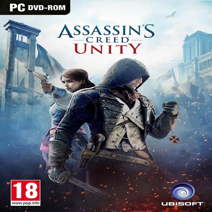 Assassins Creed Unity Pc Game Shopee Indonesia