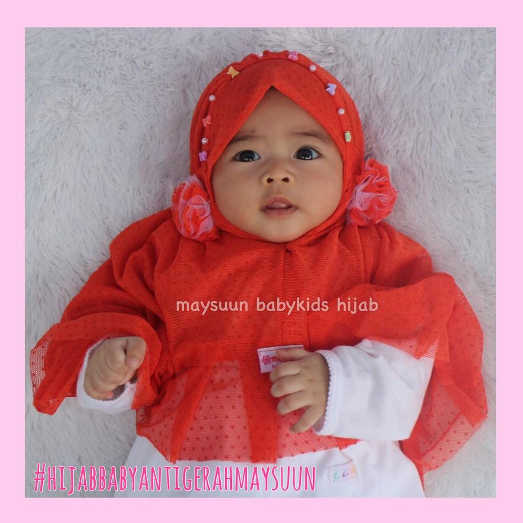 Grosir Jilbab Anak Lucu Hijab Anak Karakter Mickey Termurah Jilbab Bayi Lucu   Shopee Indonesia