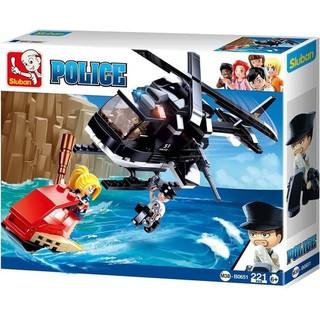 Lego Police Ii Helicopter Shopee Indonesia