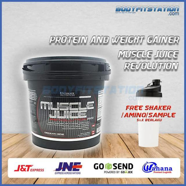 UN Muscle Juice Revolution 2 lbs ECER / REPACK Weight Gainer mj revo | Shopee Indonesia