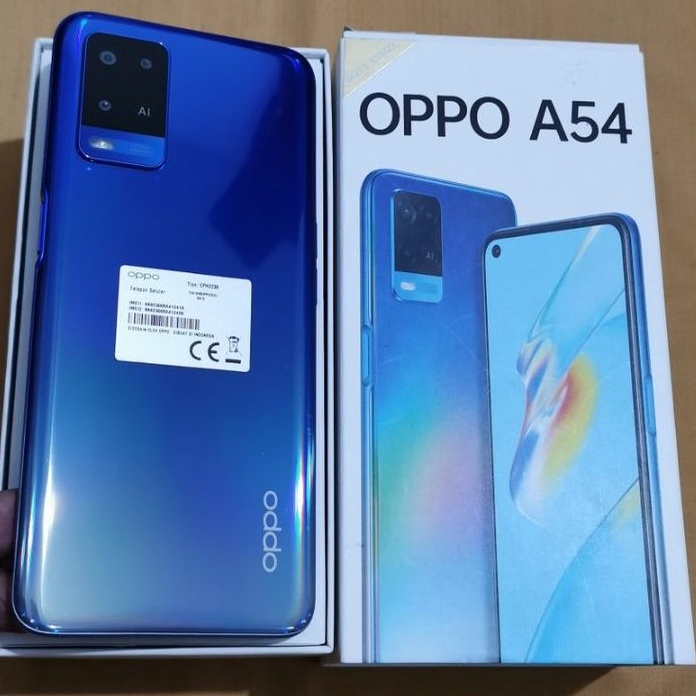 oppo a54 6/128gb second