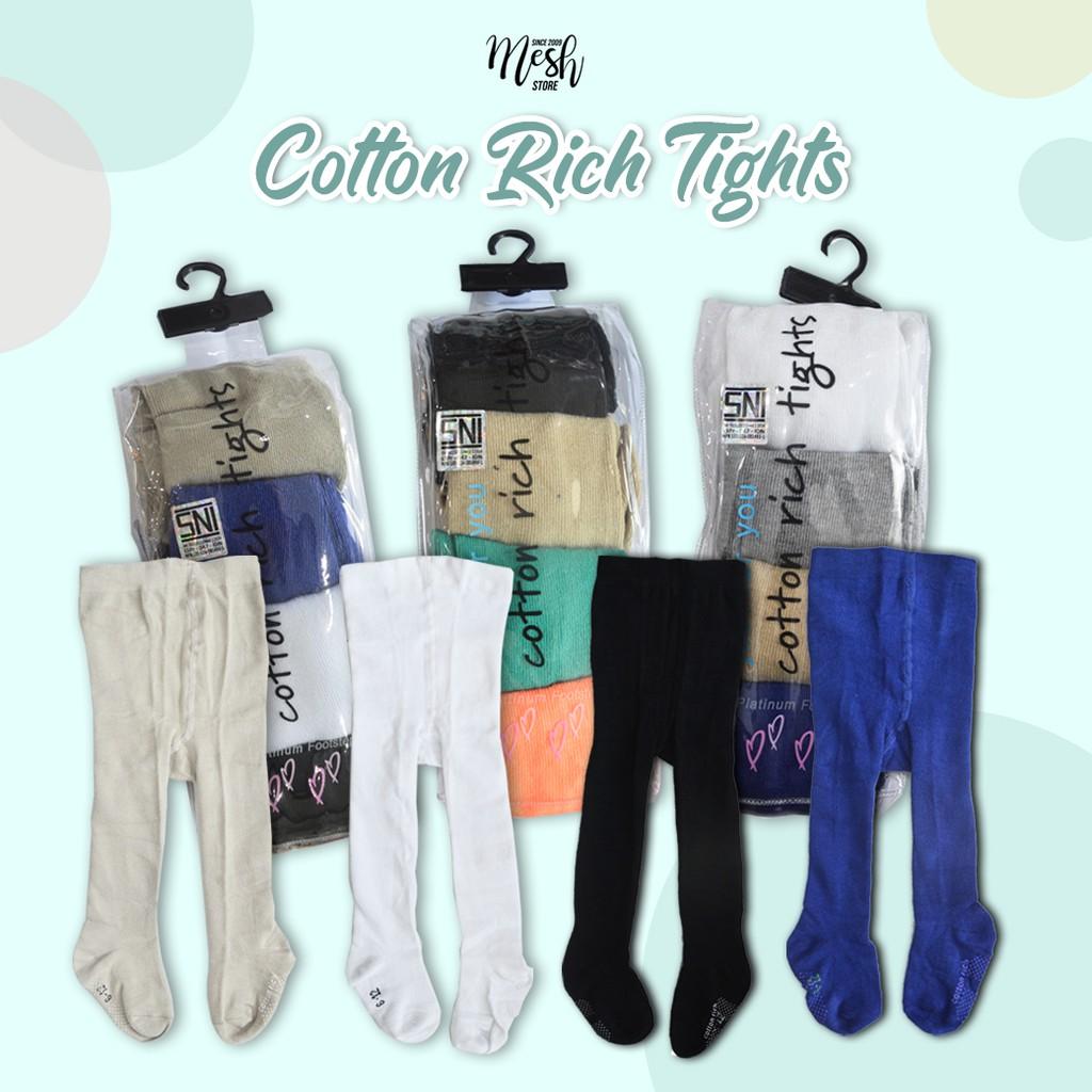 1 Set 4 Buah Stocking Bayi Polos Cotton Tights Legging Bayi Stocking Polos Kombinasi Warna Shopee Indonesia