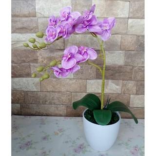 Bunga Anggrek Artificial   Hiasan Meja Anggrek  7f30a2510c