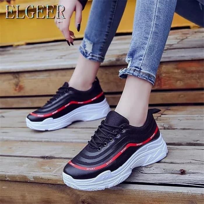 Sepatu Wanita Nania SDS274 Hitam  a08ff95034