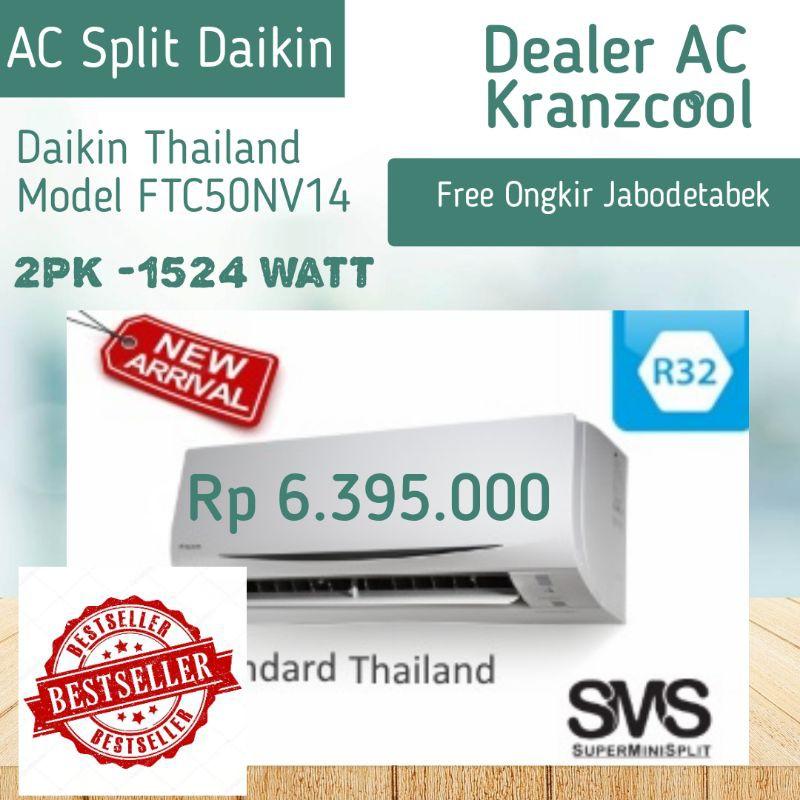 Promo Ac Split Daikin Thailand 2 Pk