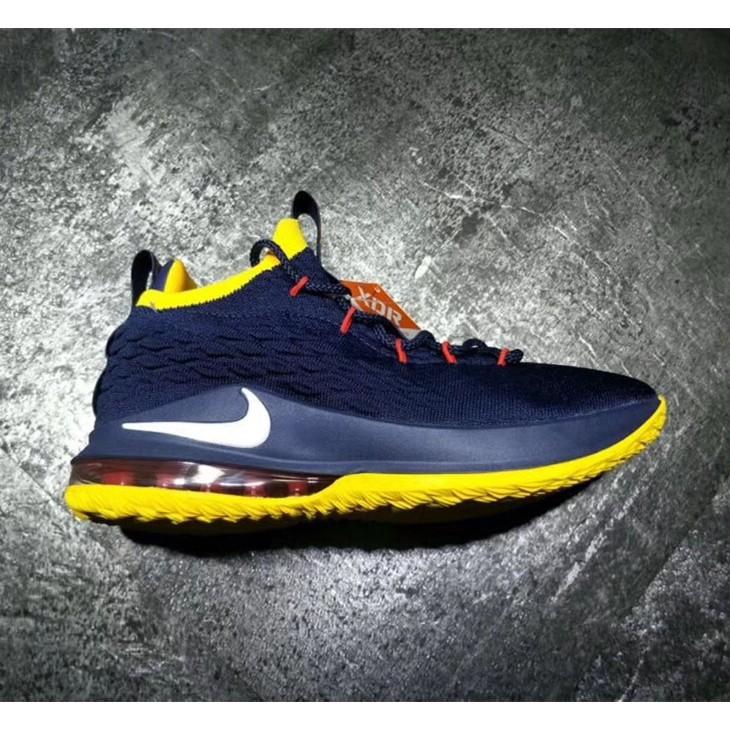 Low Sepatu 15 Desain Sneakers Lebron Breathable Lbj Nike 453RLjA