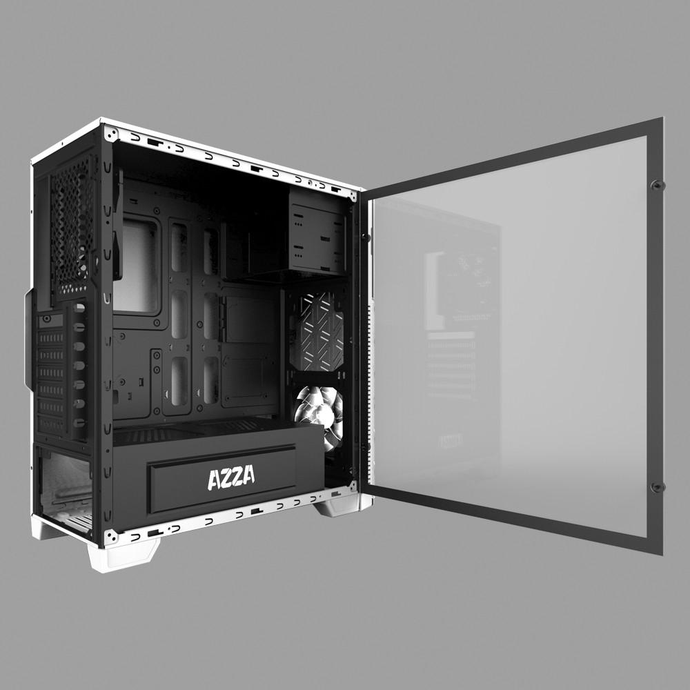 harga CUBE GAMING GIRFLET BLACK (By AZZA) - Tempered Glass Window - RGB Shopee.co.id