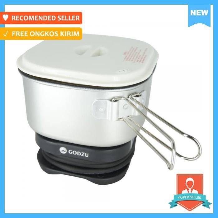 Travel Cooker Godzu Gtc 350 1Liter - Dapur - Rice Cooker | Shopee Indonesia