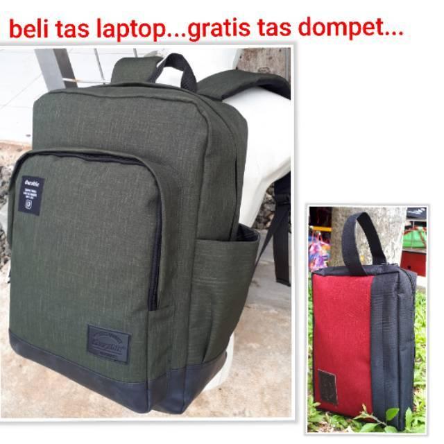Fashion Pria: Tas Ransel Warna Polos untuk Laptop, Bahan Kain Oxford3#1   Shopee Indonesia