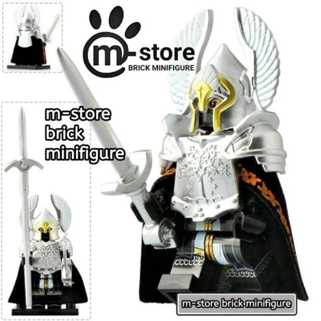 Lego Lord Of The Rings Fountain Guard Lotr Minifigure Shopee Indonesia