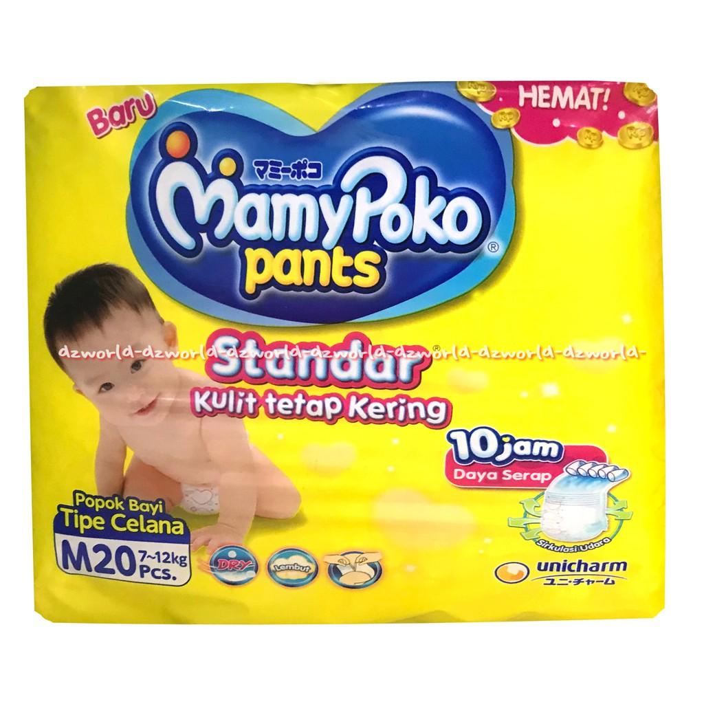 Mamypoko Pants Standar Popok Bayi Tipe Celana Size Xl 20 Diaper Daya Mamy Poko 26 Dan Xxl24 Serap Sampai 10 Jam Shopee Indonesia