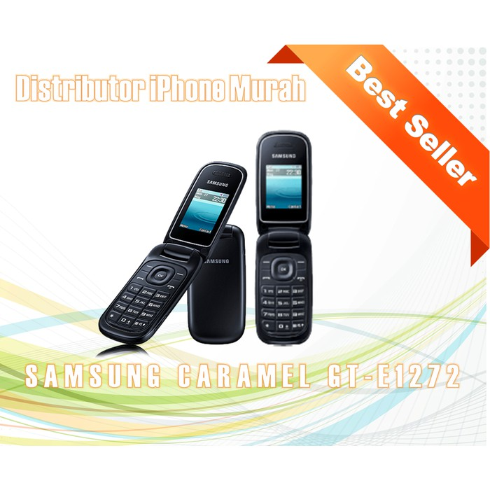 Samsung Caramel Gt-E1272 / Samsung Lipat Dual Sim - ( Hitam, Putih ) - Hitam | Shopee Indonesia
