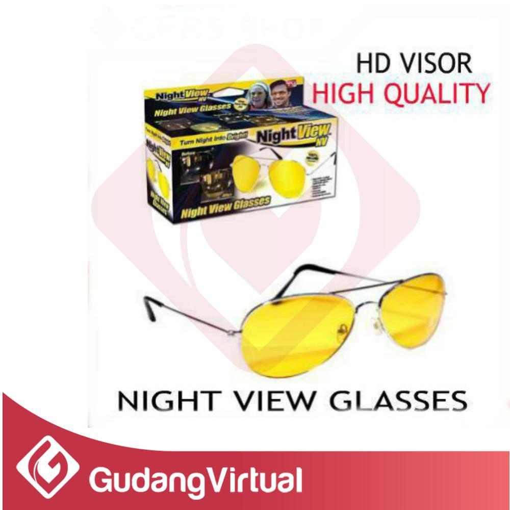 Buy 1 Get Kacamata Out Door Hd Vision Visor Anti Glare Shopee Night View Glasses Silau Malam Hari Warna Kuning Indonesia