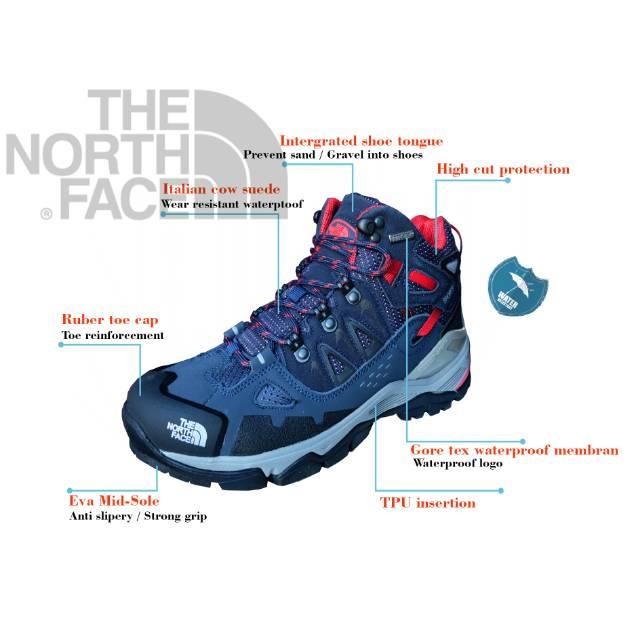 Sepatu gunung - sepatu hiking - sepatu gunung waterproof - sepatu the north  face  1ac4e07933