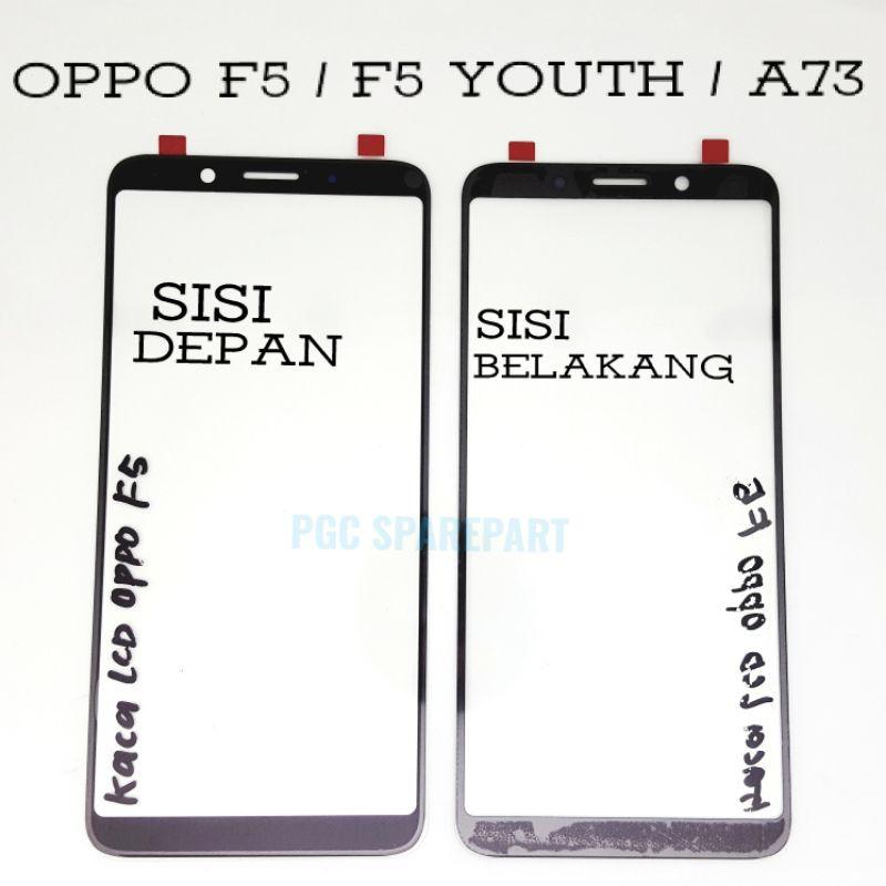 Original Kaca Luar LCD  Oppo F5 - F5 Youth - A73 - Mirip touchscreen tapi tidak memiliki flexible