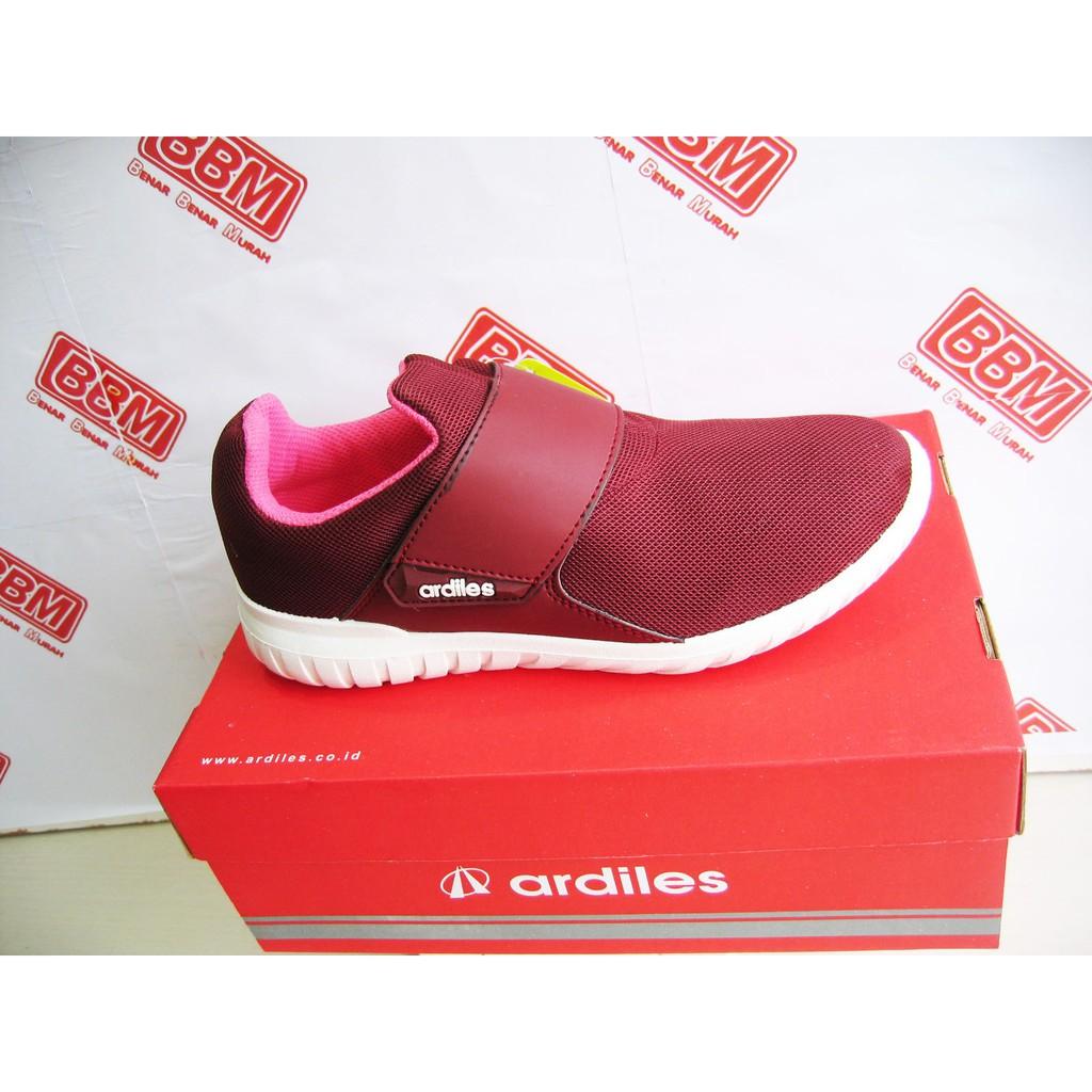 Sepatu Wanita Sepatu Olahraga Ardiles Wijima Grey Fuxia Sepatu Murah ... 59650074a2