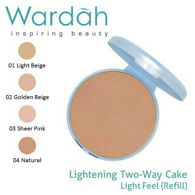[ REFILL ] Wardah Lightening Two Way Cake Light Feel