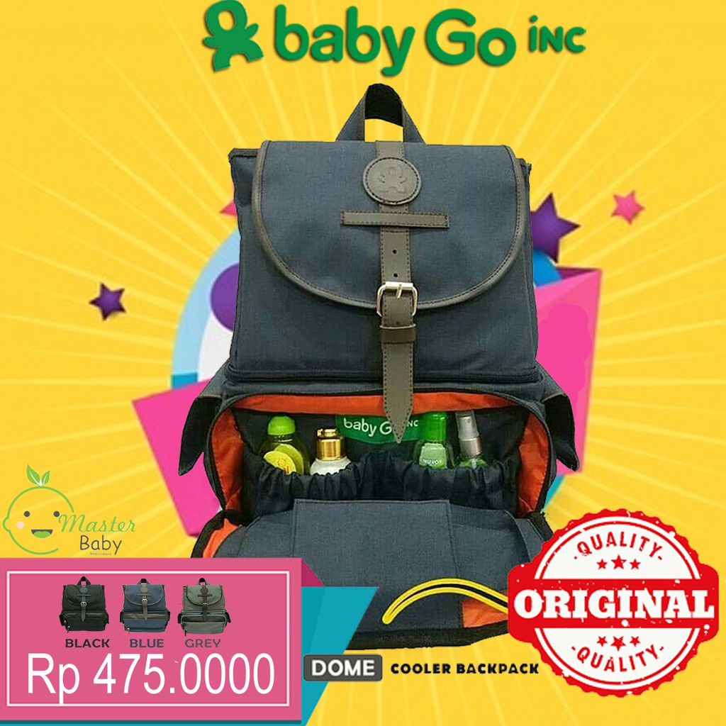 Tas Asi Backpack Diaper Changing Pad Cooler Bag Allegra Fashion Gabag Ransel Perlengkapan Bayi Black Calmo New Shopee Indonesia