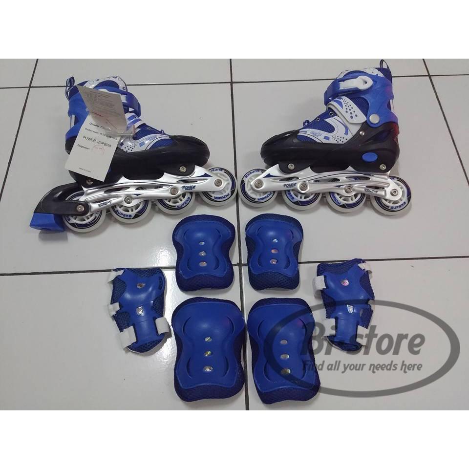 Sepatu roda Karet Banwei Sol + Dekker LQ58  484447b1a4
