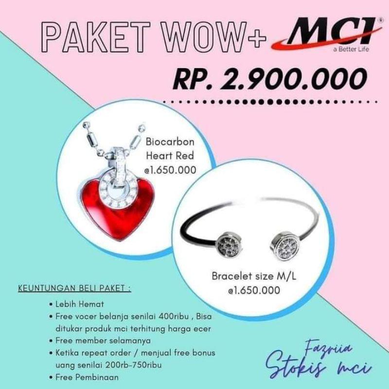 Paket Produk MCI-Kalung MCI-Gelang MCI- kalung Kesehatan (100%ORIGINAL BY MCI )