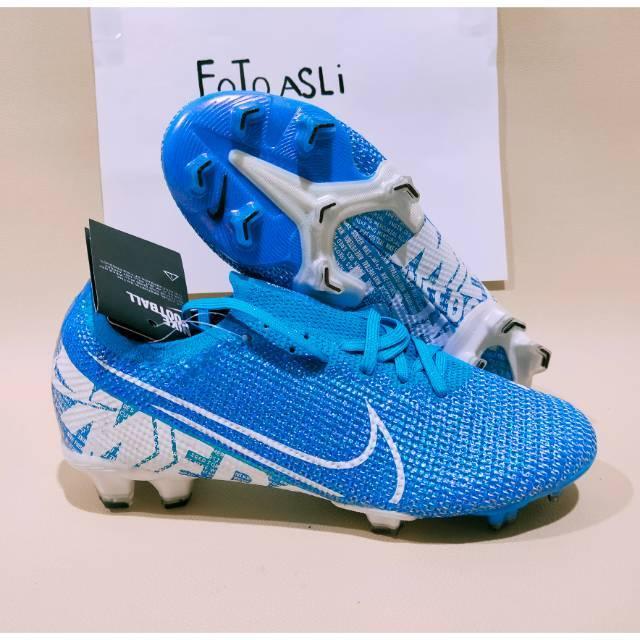 Sepatu Bola Nike Vapour 13 Elite Neymar Blue Hero White Fg Bonus