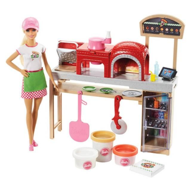 New Produk Mainan Barbie Pizza Cheff Doll Shopee Indonesia