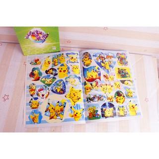 buku mewarnai gambar paw patrol/peppa pig/pokemon go dengan stiker untuk hadiah anak | shopee