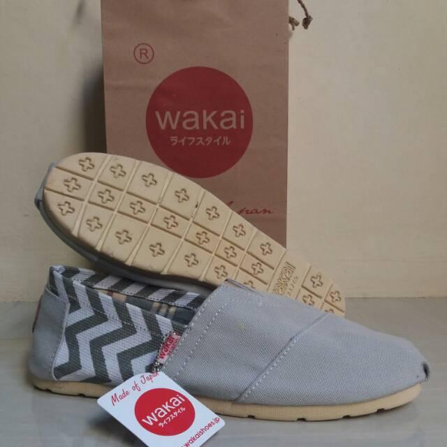 Sepatu Loafer Slip On Everbest Grey Original Not Pedro Andrew P5768 ... aa1822160b