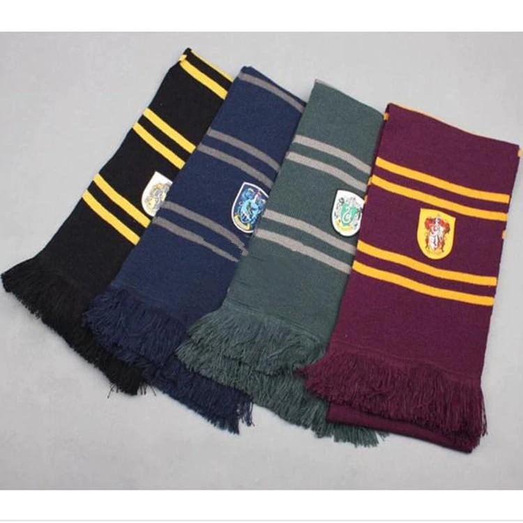 Harry Potter Scarf large Gryffindor Hufflepuff Slytherin Ravenclaw Scarf Scarves