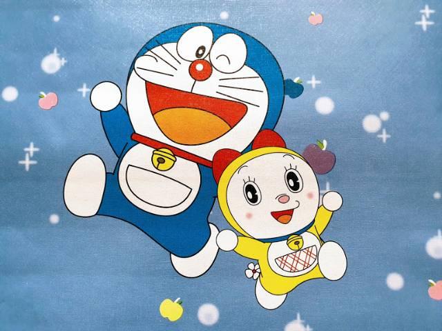 Grosir Murah Wallpaper Dinding Motif Karakter Doraemon Cocok Untuk Kamar Anak Tambah Nyaman Shopee Indonesia