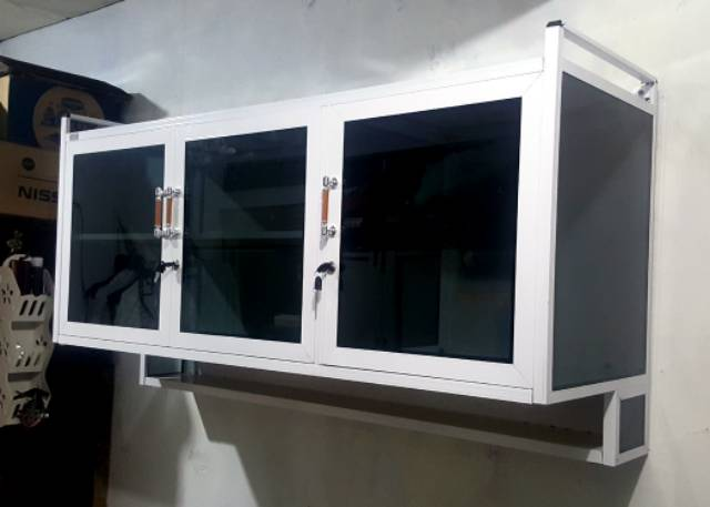 Kitchen Set Atas Aluminium Life Stella 3 Pintu Shopee Indonesia