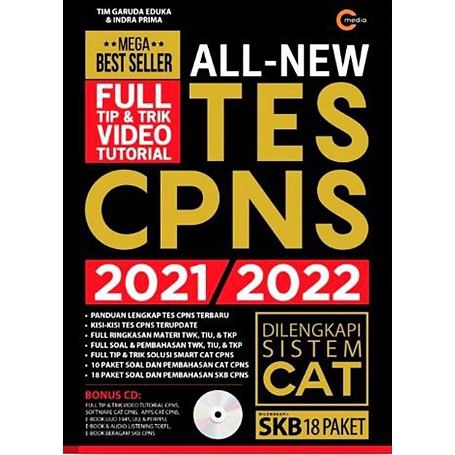 Gramedia Bandung All New Tes Cpns 2021 2022 Plus Cd Shopee Indonesia